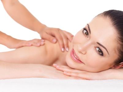 masaż, kobieta, masażystka