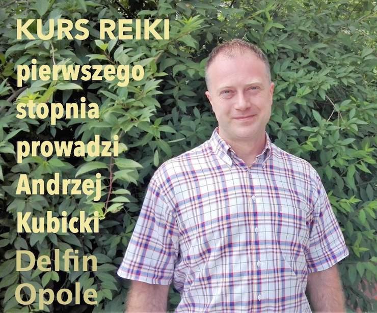 kurs reiki Andrzej Kubicki